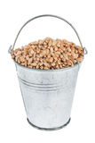 Bucket with wheat Royalty Free Stock Photos