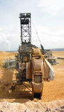 Bucket wheel excavator Stock Image
