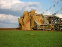 Bucket  wheel excavator Stock Photography