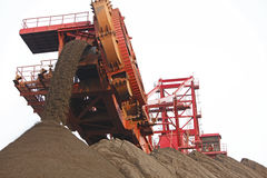 Bucket wheel excavator Stock Photo