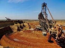 Bucket wheel excavator Stock Photos