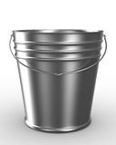 Bucket on white background Stock Photos