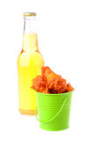 Bucket of Wings Royalty Free Stock Images