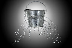 Free Bucket With Holes Royalty Free Stock Image - 34754846