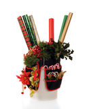 bucketfull圣诞节 免版税库存图片