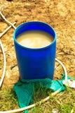 Buckets синь Стоковое Изображение RF