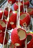 Buckets heart shape , heart pots Royalty Free Stock Photography