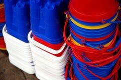 buckets spadar Royaltyfri Bild