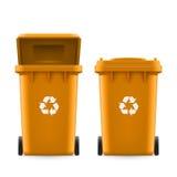 Buckets for trash Royalty Free Stock Photo