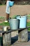 buckets vecchio Fotografia Stock Libera da Diritti