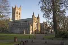 Buckfast修道院教会和修道院在南德文郡英国 库存照片
