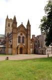 Buckfast Abbey. In Cornwall stock photography