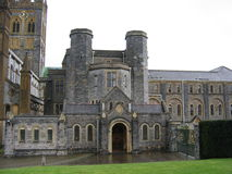 Buckfast Abbey. In Devon royalty free stock photography