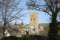 Buckfast Abbey Church en Devon del sur Reino Unido Imagenes de archivo