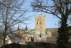 Buckfast Abbey Church i södra Devon UK Arkivbilder