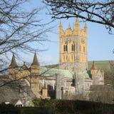 Buckfast Abbey Church y monasterio en Devon del sur Reino Unido Fotos de archivo libres de regalías