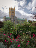 Buckfast Abbey Devon England arkivbilder