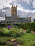Buckfast Abbey Devon England Stockfotos