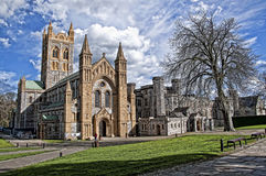 Buckfast Abbey in Devon England royalty free stock photos