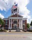 厄普舍县法院在Buckhannon WV 免版税图库摄影