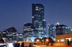 Buckhead. Is the uptown district of Atlanta, Georgia, USA stock image