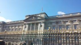 Buckhingham宫殿 免版税库存照片