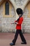 Buckimgam宫殿-女王的卫兵 图库摄影