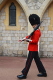 Windsor castle -  The Queens Guard Stock Photography