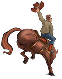 Bucking Rodeo Horse stock photography