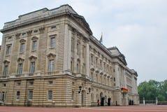 Buckingam Palace at Royal Wedding Day Stock Photography
