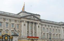 Buckingam Palace at Royal Wedding Day Royalty Free Stock Images