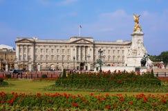 buckingham伦敦宫殿 库存图片