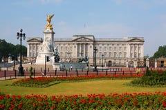 buckingham伦敦宫殿 免版税图库摄影