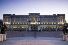 buckingham伦敦宫殿 免版税库存图片