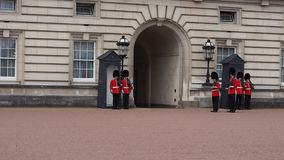 buckingham伦敦宫殿 股票录像