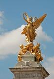 buckingham伦敦纪念宫殿维多利亚 图库摄影