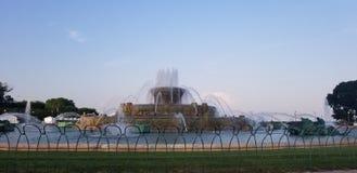 Buckingham喷泉 库存图片