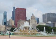 Buckingham喷泉 免版税图库摄影