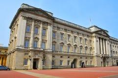 buckingham王国团结的伦敦宫殿 免版税库存照片