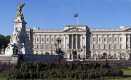 buckingham纪念宫殿维多利亚 免版税库存照片