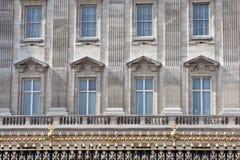 buckingham详细资料英国伦敦宫殿英国 免版税库存照片