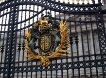 buckingham门主要宫殿 库存照片