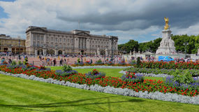 buckingham παλάτι της Αγγλίας Λον& Στοκ Εικόνες