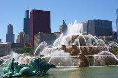buckingham πηγή του Σικάγου Στοκ φωτογραφία με δικαίωμα ελεύθερης χρήσης