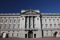 buckingham前宫殿视图 免版税库存照片