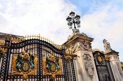 buckingham bramy pałac Zdjęcia Stock