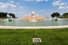 Buckingham Brunnengrant-Park Chicago Stockfoto