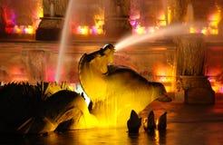 Buckingham Denkmal-Brunnen Lizenzfreies Stockfoto