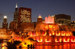 Buckingham fountain Royalty Free Stock Photos