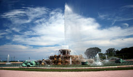 Buckingham Fountain Stock Image